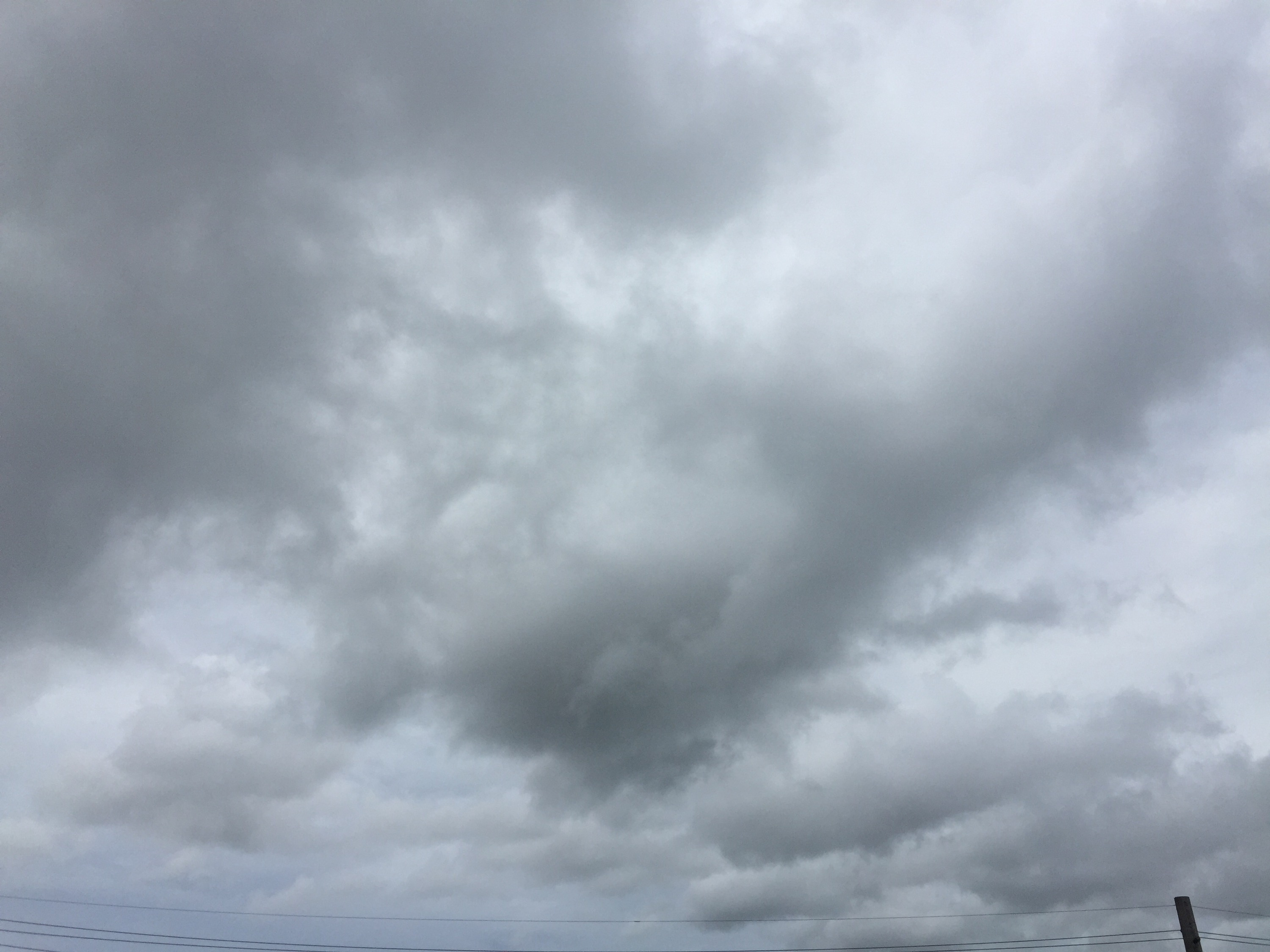 Clouds from  Tropical  Storm Chan-Hom